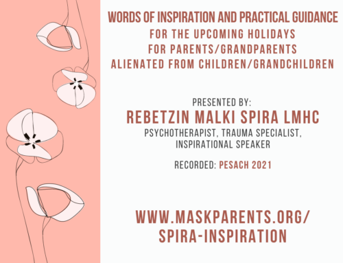 Words of inspiration and practical guidance for the upcoming holidays by Rebetzin Malki Spira LMHC
